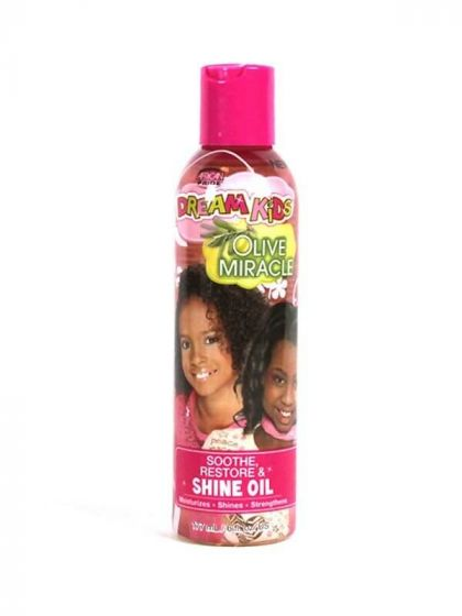 African Pride Dream Kids Olive Miracle Shine Oil 6oz