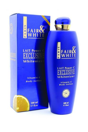 Fair and White Exclusive Whitenizer Vitamin C Body Lotion 500ml
