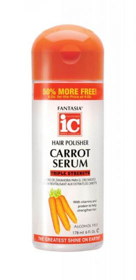 Fantasia IC Triple Strength Hair Polisher Carrot Serum 6oz