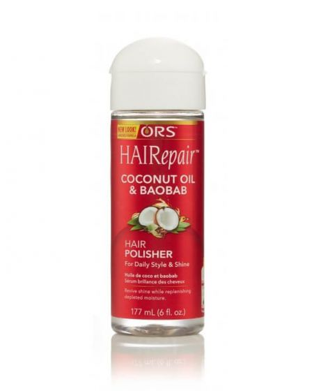 ORS Hair Repair Coconut Oil & Baobab Hair Polisher 6oz
