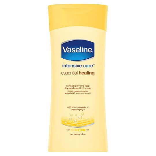 Vaseline Intensive Care Essential Healing Body Lotion 400ml Yellow