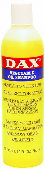 DAX Vegetable Shampoo 12oz