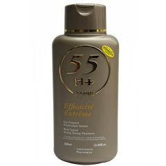 55H+ Efficacite Extreme Body Lotion Strong Toning Treatment 16.8oz