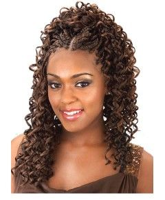 Aftress Synthetic Casino Bulk Hair Extension