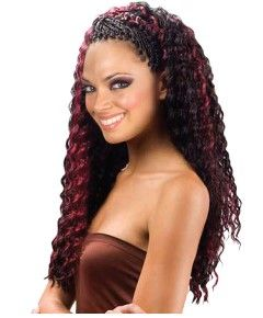 Aftress Synthetic Deep Twist Bulk Hair extension