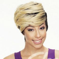 Sleek Dina Fashion Idol 101 Tongable Premium Fibre Synthetic Wig