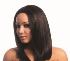 Sleek DIVA Spotlight 100% Human Hair Swiss Net Wig (Color 1, 1B, 2, 4)