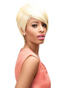 Sleek EBONY Fashion Idol 101 Tongable Synthetic Premium Wigs