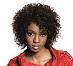 Sleek Fashion MIA Short Curly 100% Human Hair Wigs (All Colours)