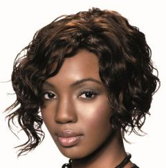 Sleek RETRO 100% Human Hair Short Wave Wig - All Colours