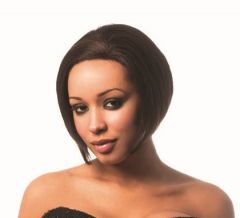 Sleek STARLET 100% Human Hair Swiss Net Lace Front Hair Wig