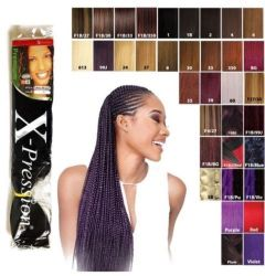 Premium X-Pression Ultra Braid Synthetic Braiding Hair Expression