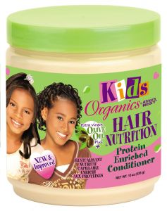 Africa's Best Kids Organics Hair Nutrition Conditioner Jar 15oz