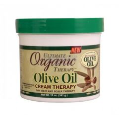 Africa's Best Organics Olive Oil Cream Therapy Jar 7.5oz