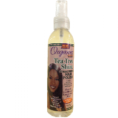 Africas Best Organics Tea Tree Shine Hair Polisher 6oz