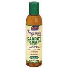 Africa's Best Organics Carrot Tea Tree Oil Therapy 6oz
