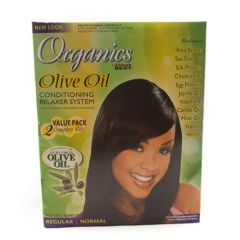 Africas Best Organics Conditioning Kit 2 Value Pack Regular