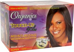 Africas Best Touch Up Plus Moisturizing Relaxer Kit Super