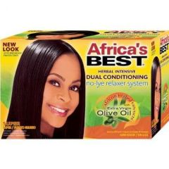 Africa's Best Super Herbal Intensive Dual Conditioning Relaxer Kit