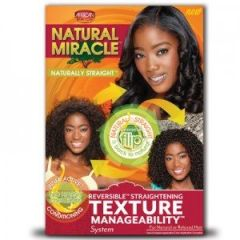 African Pride Natural Miracle Hair Strenthening Texture Manageability Kit