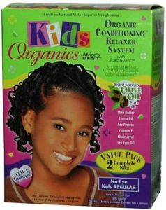 Africa's Best Kids Organics Value Pack 2 App Relaxer Kit Regular