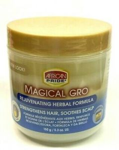 African Pride Magical Gro Rejuvenating Herbal Formula 5.5oz (Blue)