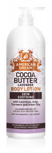 American Dream Cocoa Butter Lavender body lotion
