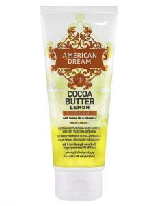 American Dream Cocoa Butter Lemon Cream tube