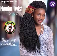 Angels Mambo Twist Long Braid Tangle Free Crochet Braid