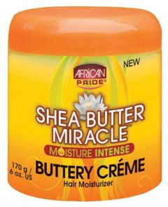 African Pride Shea Butter Miracle Buttery Crème 6oz