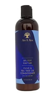 As I Am Dry & Itchy Scalp Care 12 Oz. Olive & Tea Tree Oil Conditioner