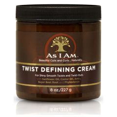 As I Am Twist Defining Cream For Shiny Smooth Curls 227G