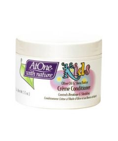 ATONE Kids Olive Oil & Shea Butter Cream Hair Conditioner 5.5oz