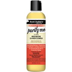 Aunt Jackie's Curls & Coils Flaxseed Recipes Purify Me Moisturizing Co-Wash Cleanser