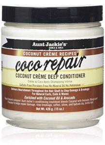 Aunt Jackie's Coconut Creme Recipes Coco Repair Deep Conditioner 15OZ