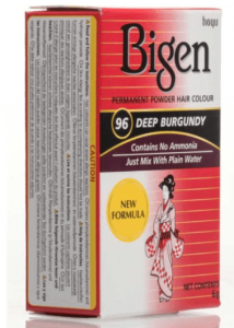 Bigen Permanent Powder Hair Color Deep Burgundy