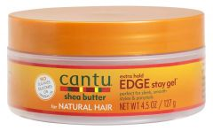 Cantu Shea Butter Natural Hair Edge Stay Gel, Extra Hold 4.5 Oz