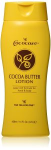 Cococare Cocoa Butter Lotion for Hand & Body - Yellow 14.OZ