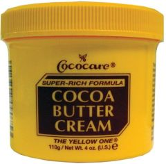 Cococare Cocoa Butter Super Rich Formula Cream - Yellow 4oz