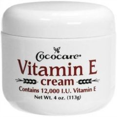 Cococare Vitamin E Skin Cream 4oz