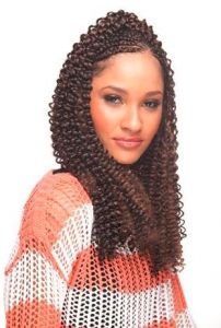 Cherish Water Wave Bulk-4 - Chocolate Brown-22""