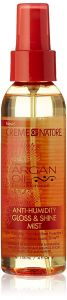 Creme Of Nature Argan Oil Anti Humidity Gloss and Shine Mist 4oz