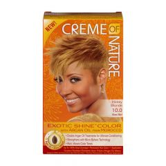 Creme Of Nature Argan Oil Exotic Shine Honey Blonder Color 10.00