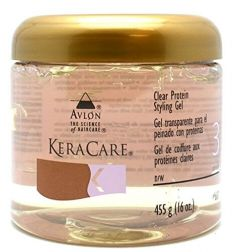Avlon KeraCare Clear Protein Styling Gel (pH 6.0) 16oz