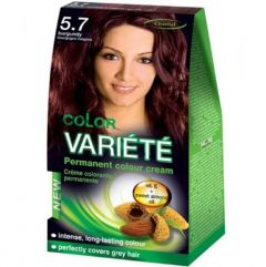Chantal Color Variété Permanent Hair Colour Cream Dye Burgundy 5.7