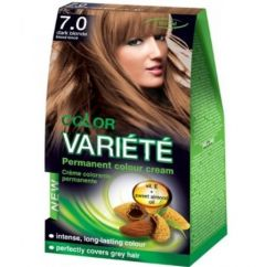Chantal Color Variété Permanent Hair Colour Cream Dye Dark Blonde 7.0