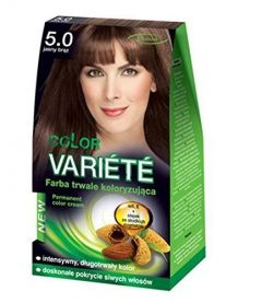 Chantal Color Variété Permanent Hair Colour Cream Dye Light Brown 5.0