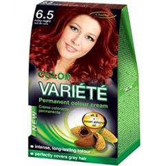 Chantal Color Variété Permanent Hair Colour Cream Dye Ruby Night 6.5