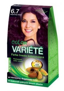 Chantal Color Variété Permanent Hair Colour Cream Dye Satin Violet 6.7