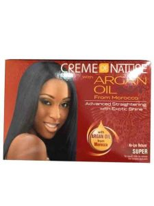 Creme Of Nature Argan Oil No-Lye Relaxer Kit Super